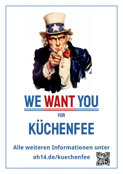 We Want You for Küchenfee